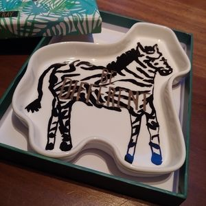 """""""Be Different"""" Zebra Tray by Rosanna"""